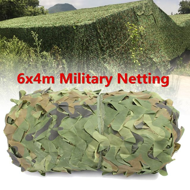 6X4m Outdoor Desert Woodland Camouflage Netting Military