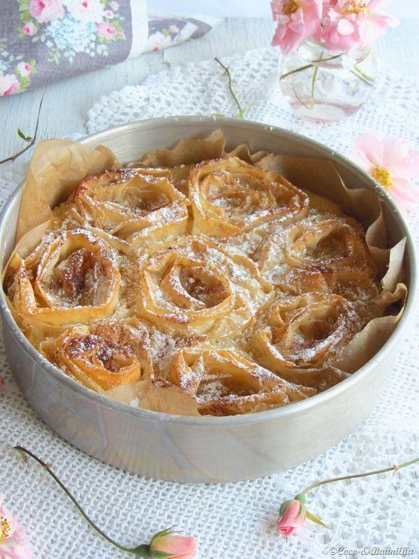 Coco e Baunilha: Ruffle milk pie ::: Tarte de leite com massa filó