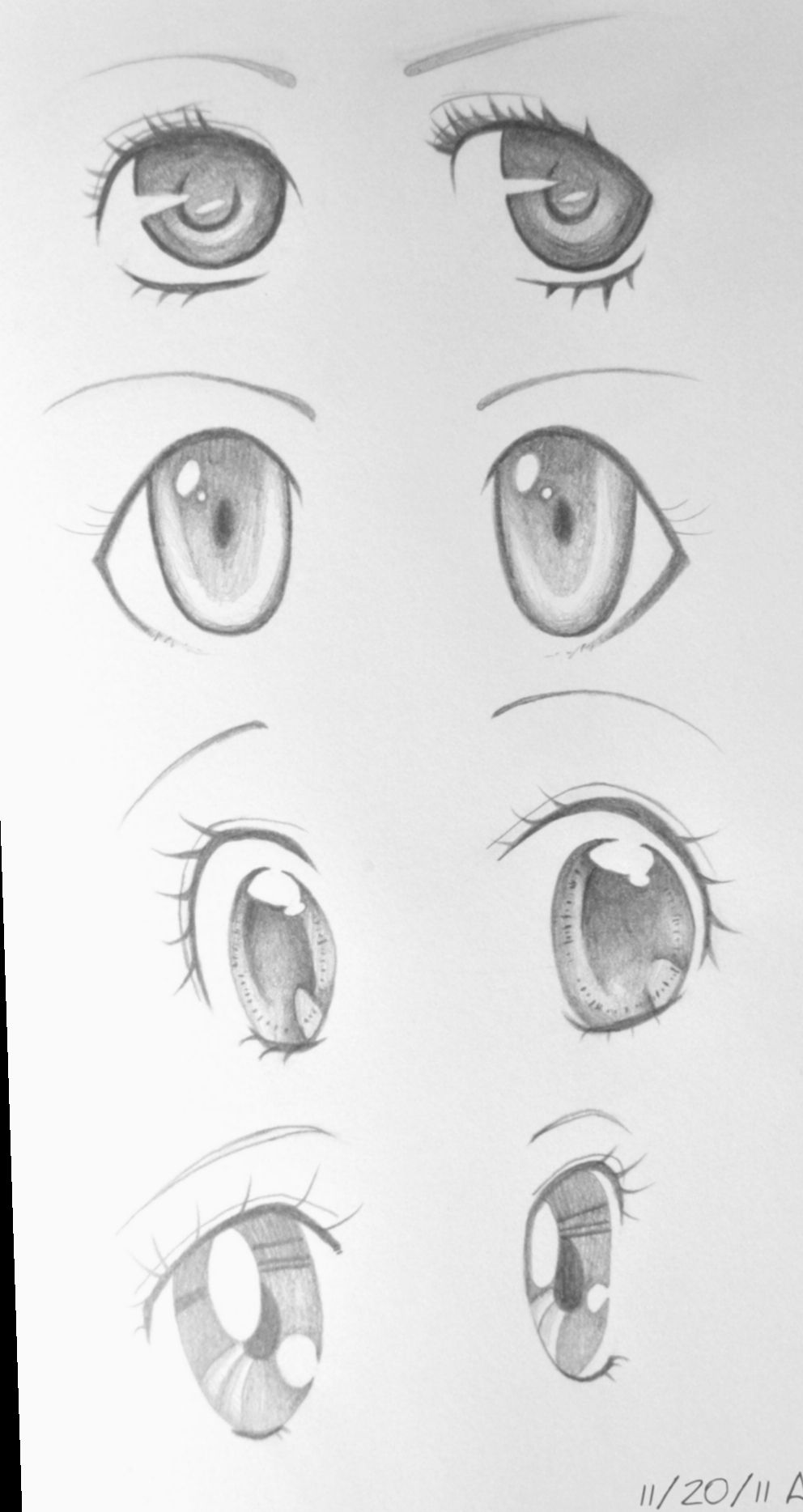 13 Anime Eyes Kawaii Draw Anime Eye Drawing Anime Drawings Sketches Anime Sketch