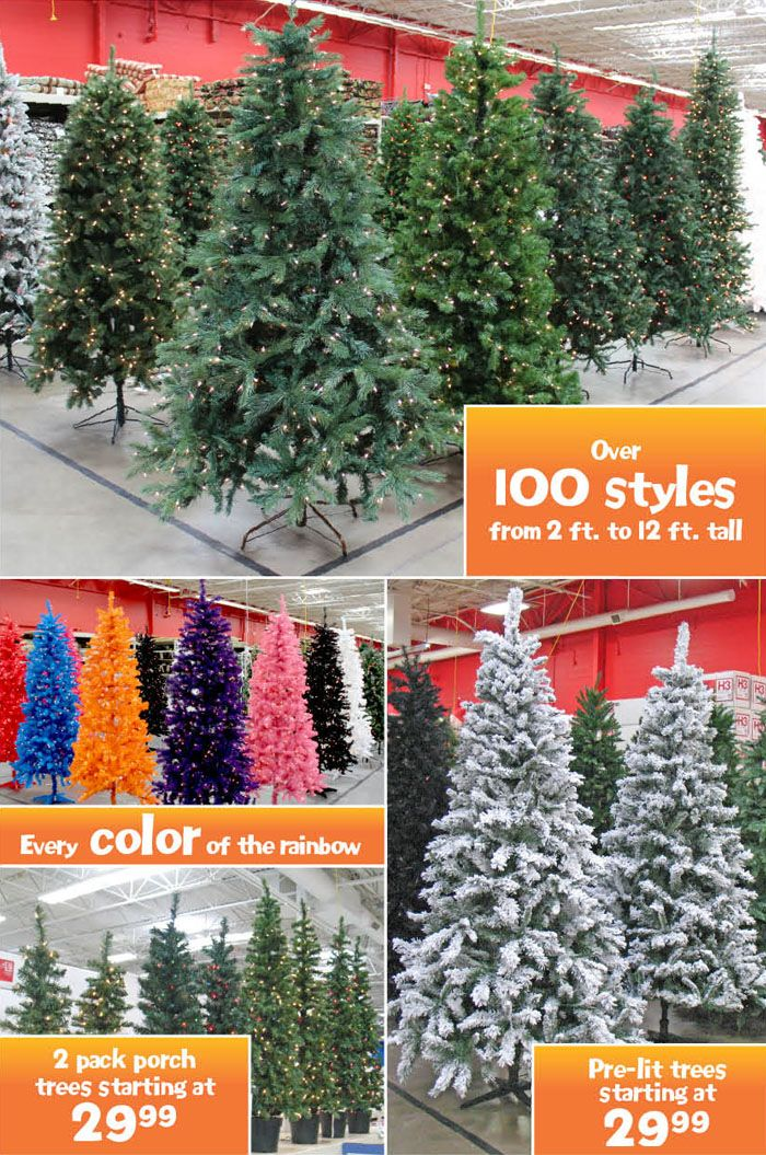 Garden Ridge - Check them out first when buying a Christmas tree! They have  all colors, even black! Great prices! - Garden Ridge - Check Them Out First When Buying A Christmas Tree