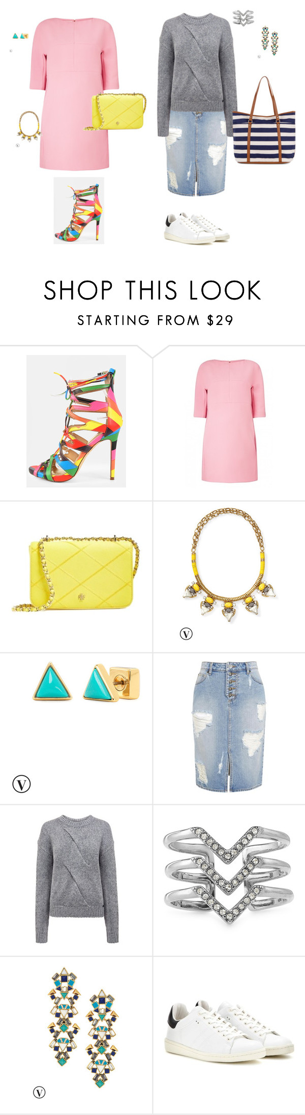 """morpho-style"" by harmonie-conseillere-en-image on Polyvore featuring mode, Marni, Tory Burch, Stella & Dot, Pink Tartan, Isabel Marant, Accessorize, women's clothing, women et female"