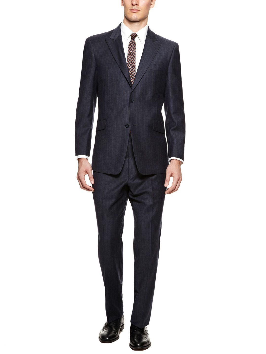 Joseph Pinstripe Suit by Tommy Hilfiger Suiting at Gilt