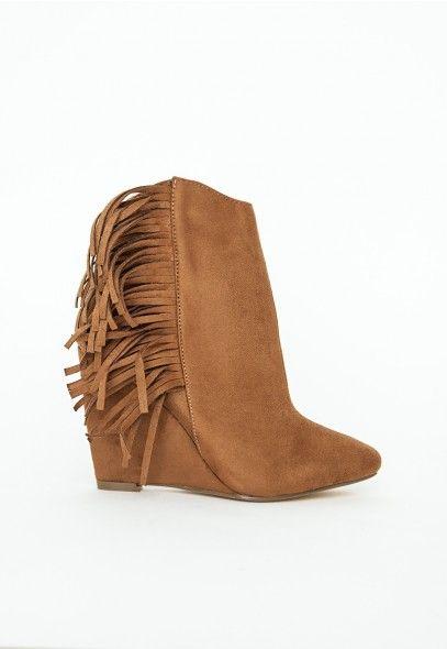 Faux Fur Detail Ankle Boots Tan Shoe Art low cost cheap price cheap sale release dates m9yXmyl