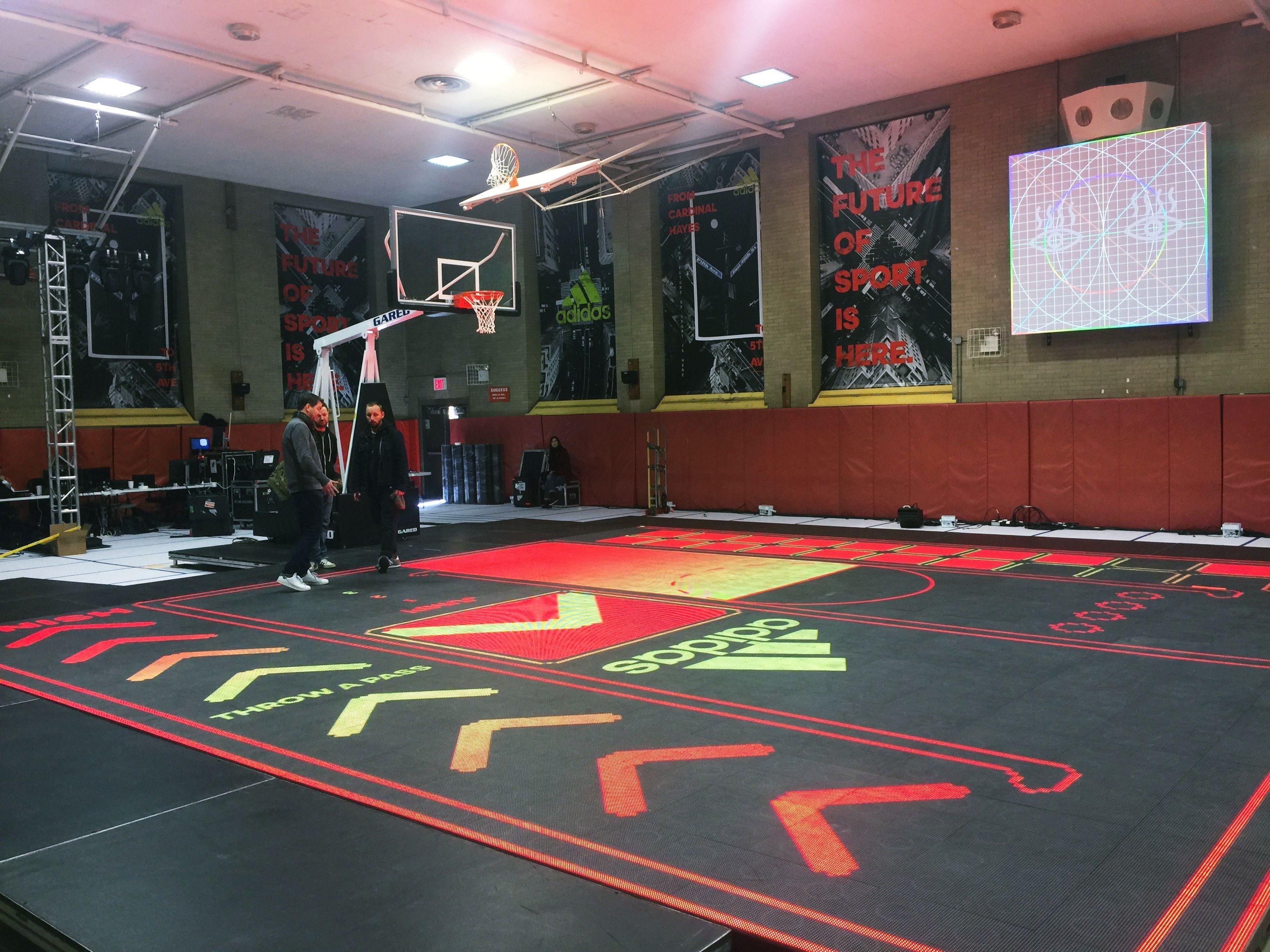 Adidas Court Sports Tournaments Event Rental
