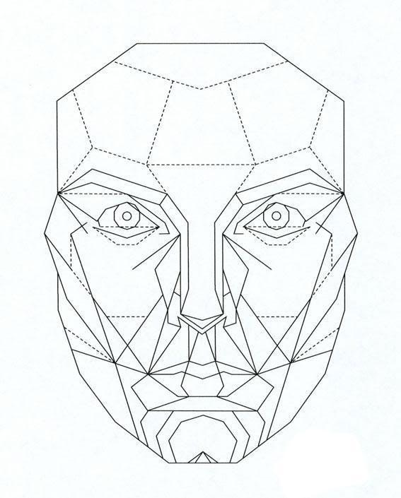 perfect face template | School | Face anatomy, Golden ratio, Facial