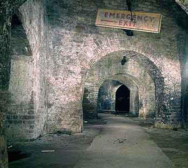 Old Horse Tunnels Under Camden Markets Circa The