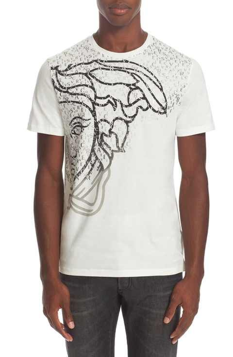 49f59cac Versace Collection Exploded Medusa Logo T-Shirt   T-Shirts   Versace ...