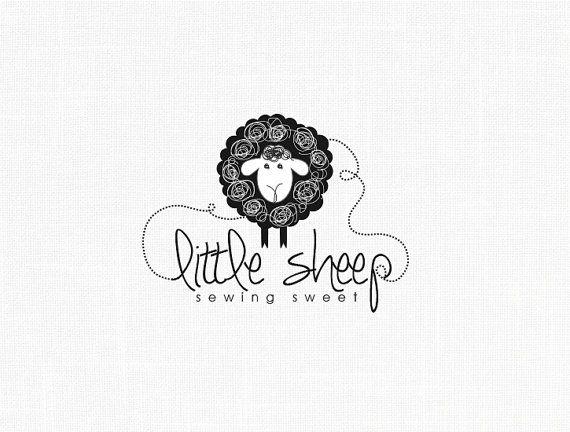 Little Sheep Logo Design Sewing Logo Fabric Logo Clothing Logo