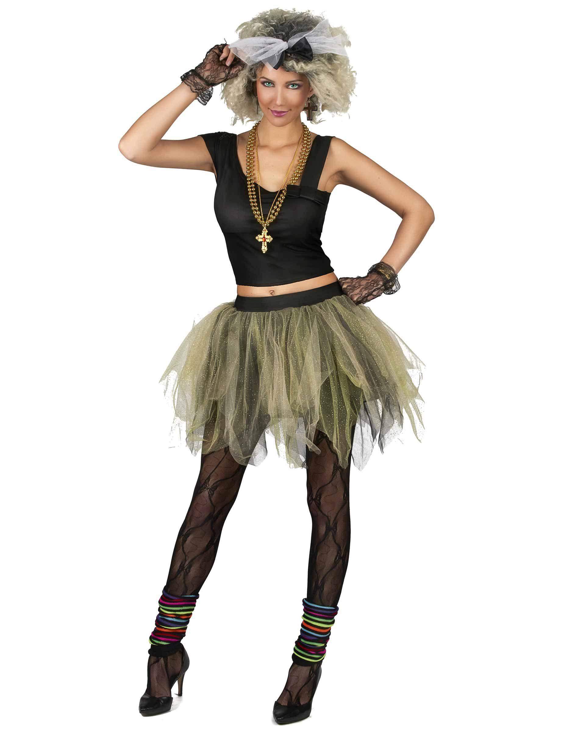 959073b3d33be 80er Disco Popstar Kostüm für Damen in 2019 | Fasching | Disco ...