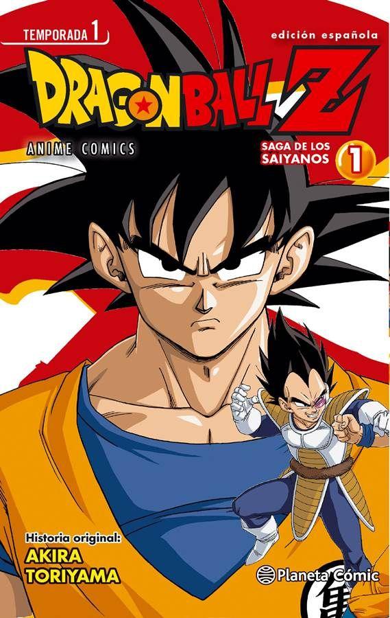 Resena Dragonballz Saga Saiyanos 1 De Planeta Comic Dragones Dragon Ball Dragon Ball Z