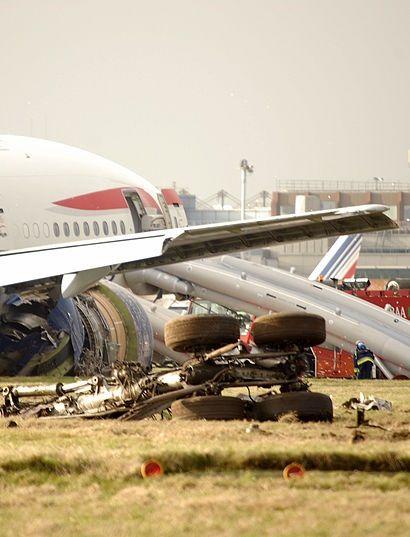 British Airways Flight 38 Crash 17th January 2008 Aviation Accidents British Airways Denmark Travel