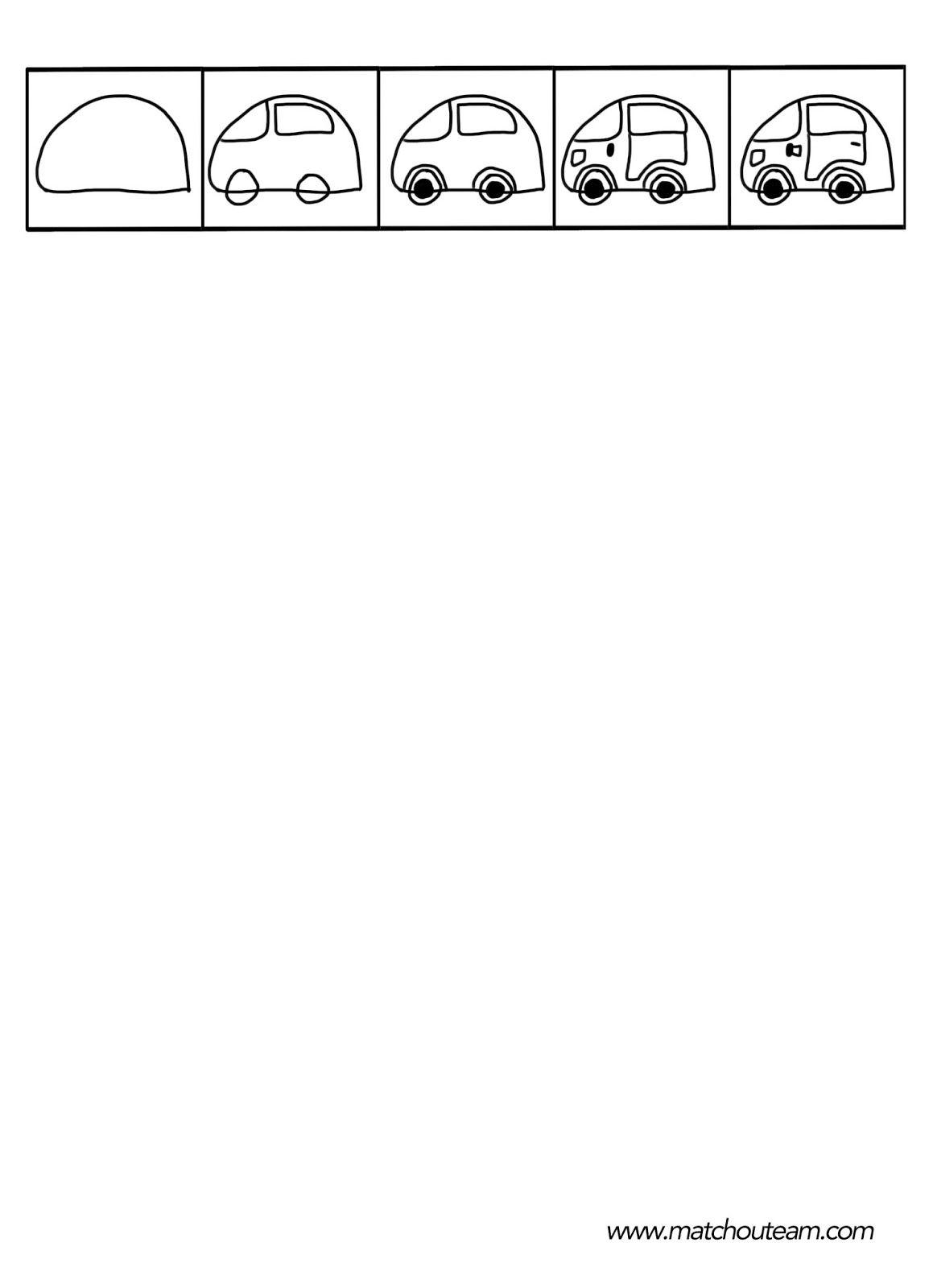 Dessin facile a reproduire par etape voiture dessin de manga - Voiture simple a dessiner ...
