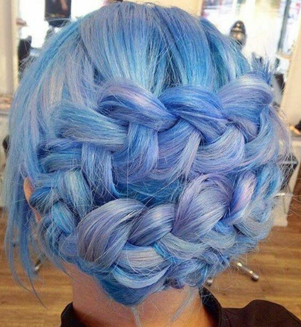 Pin by aurélia on cheveux pinterest blue hair hair style and