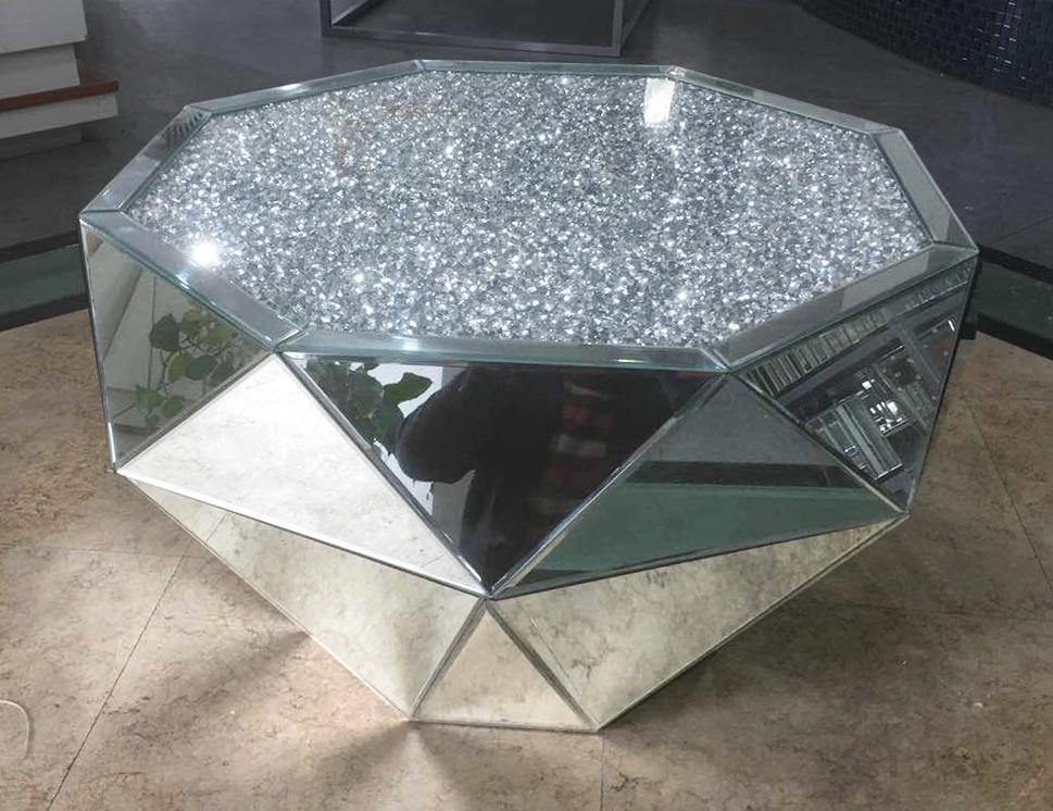 Diamond Crush Classic Mirror Coffee Table Decoraties Thuis