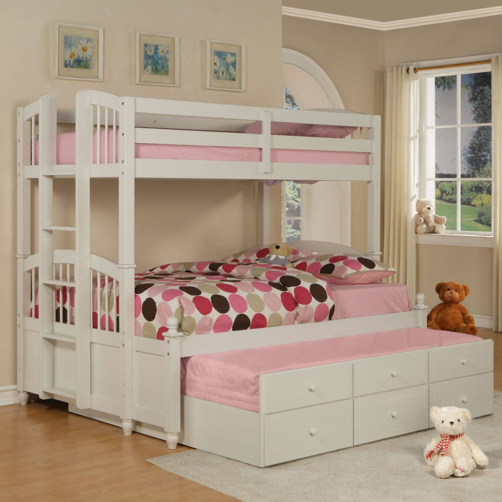 May Twin Over Full Bunk Bed Kids Beds At Kids Furniture Mart