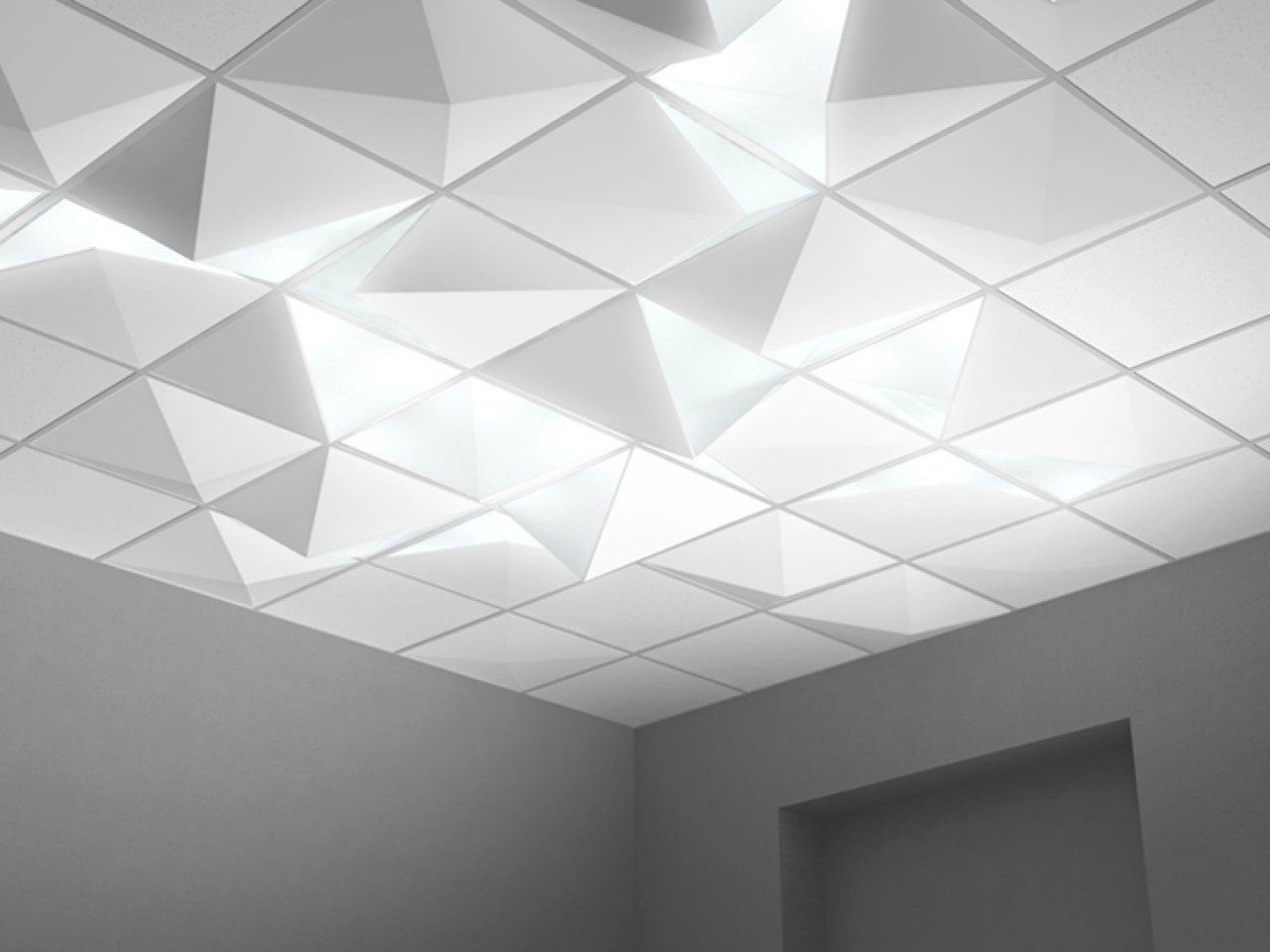 Image Result For 2x2 Tile With Recessed Linear Lighting Ceiling Lights Recessed Ceiling Lights Suspended Ceiling Lights