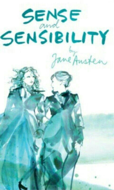 Jane Austen Sense And Sensibility Book Cover Books