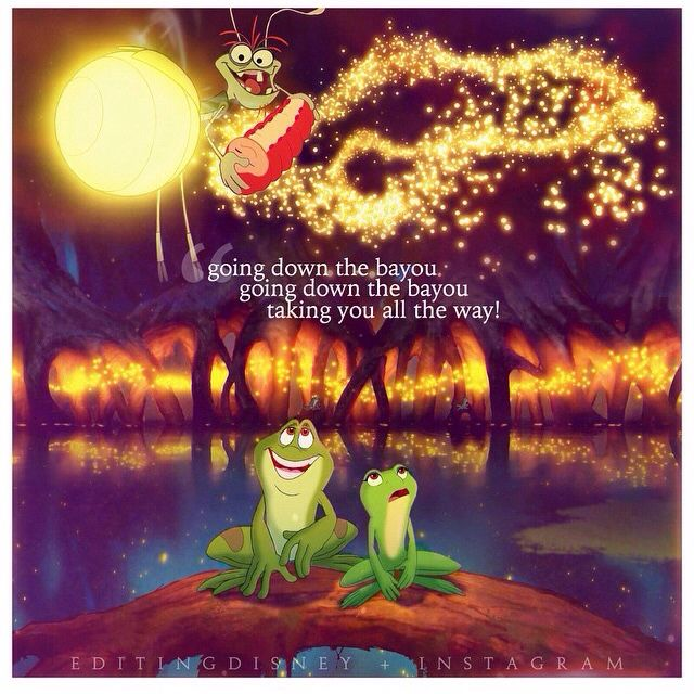 The Princess and the Frog...this song gets stuck in my head all the time!!! LOL