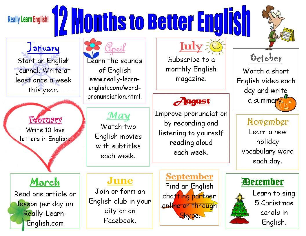 Improve Your English In With Lessons Workbooks