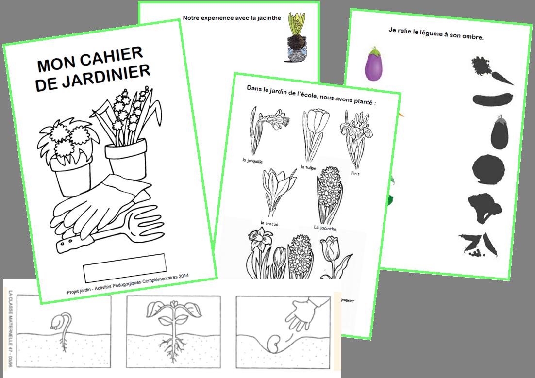 projet jardinage tr s complet liens maternelle pinterest jardinage projet et cole. Black Bedroom Furniture Sets. Home Design Ideas