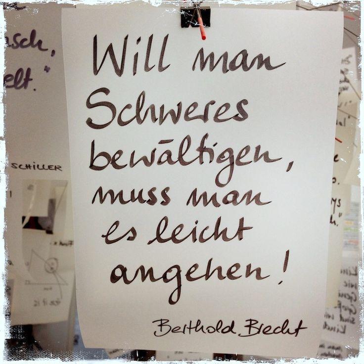 Tolla Erleuchtung - meine Zettelz Lampe von Ingo Maurer There are wonderful, powerful quotes that ac