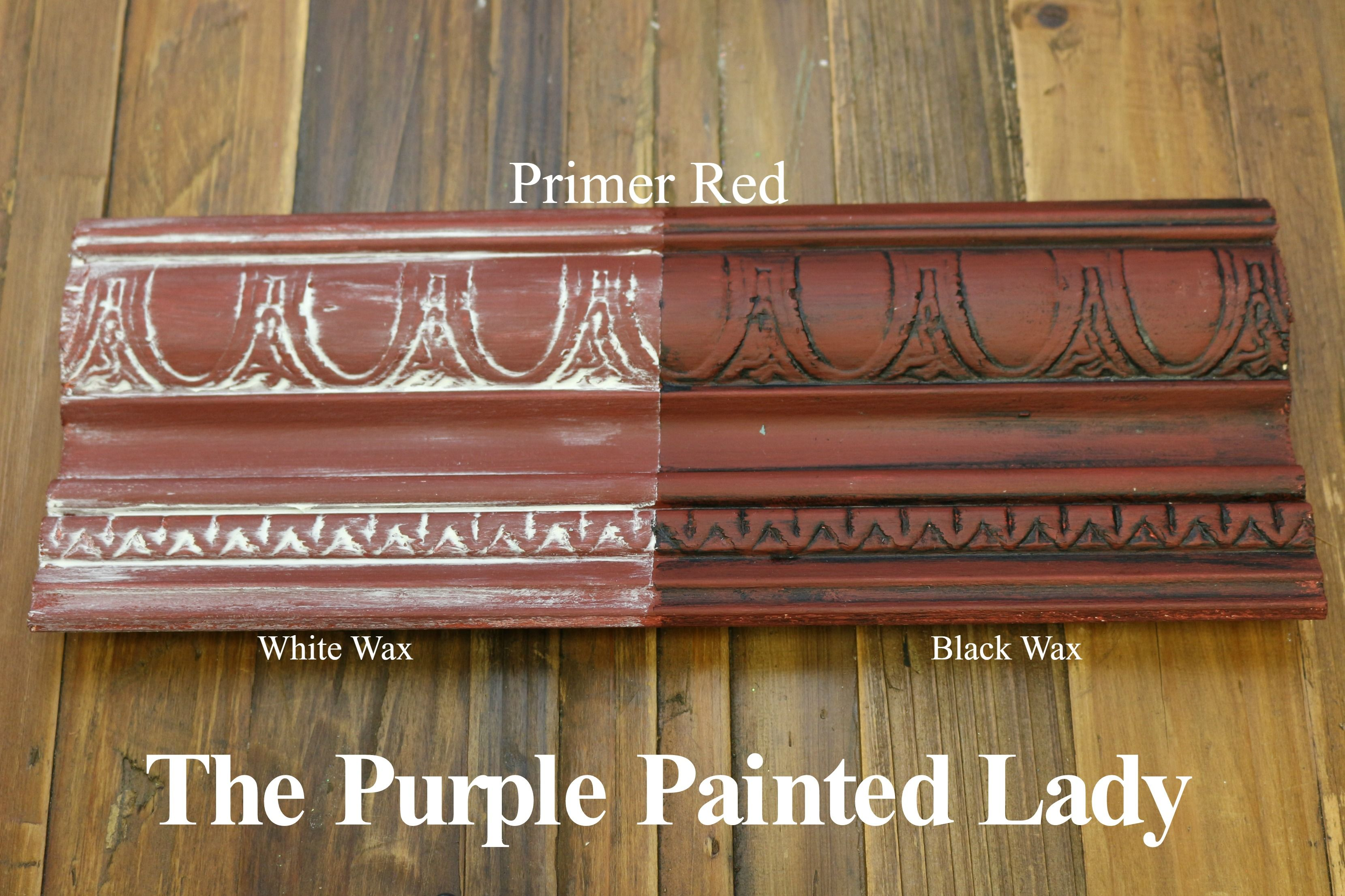 The Purple Painted Lady Two Coats Of Primer Red Chalk Paint By Annie Sloan Then One Coat Red Chalk Paint Annie Sloan Chalk Paint Colors Chalk Paint Colors