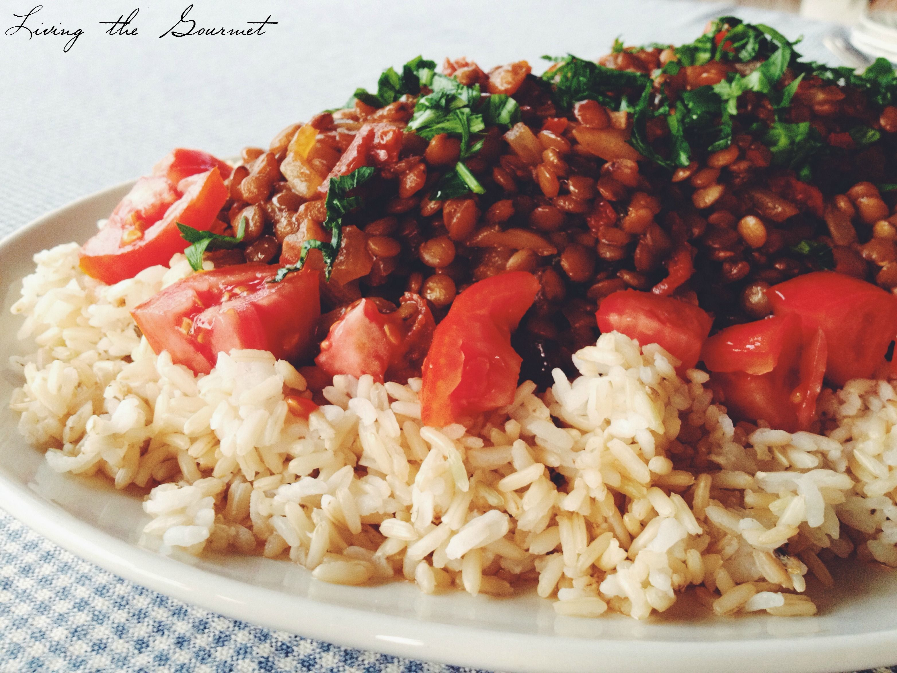 Lentils with rice recipe lentils rice and gourmet lentils with rice forumfinder Gallery