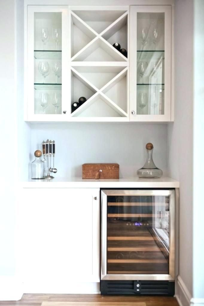 Built In Wine Rack Ideas China Cabinet Glass Doors Built In Wine Rack Racks For Kitchen Bar Cabinet Home Wall In 2020 Bars For Home Glass Front Cabinets Bar Nook