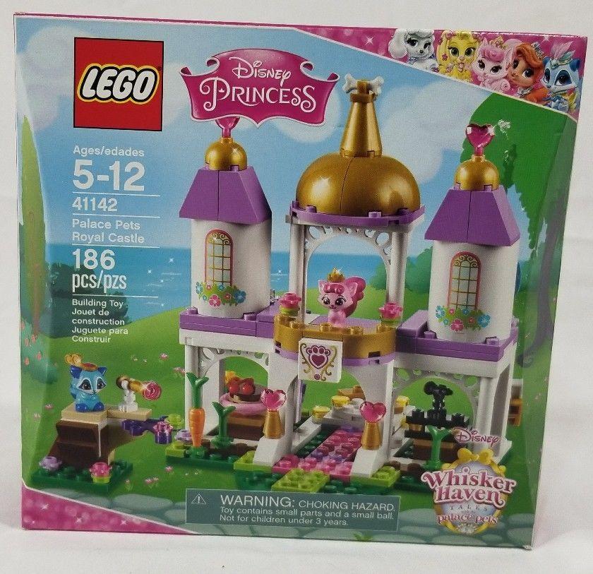 Lego 41142 Disney Princess Whisker Haven Palace Pets Royal Castle New Lego Disney Princess Disney Princess Castle Princess Palace Pets