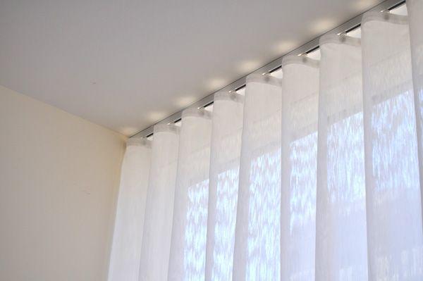 mur de voilage ripplefold rail teximport rideau pinterest voilages rail et mur. Black Bedroom Furniture Sets. Home Design Ideas