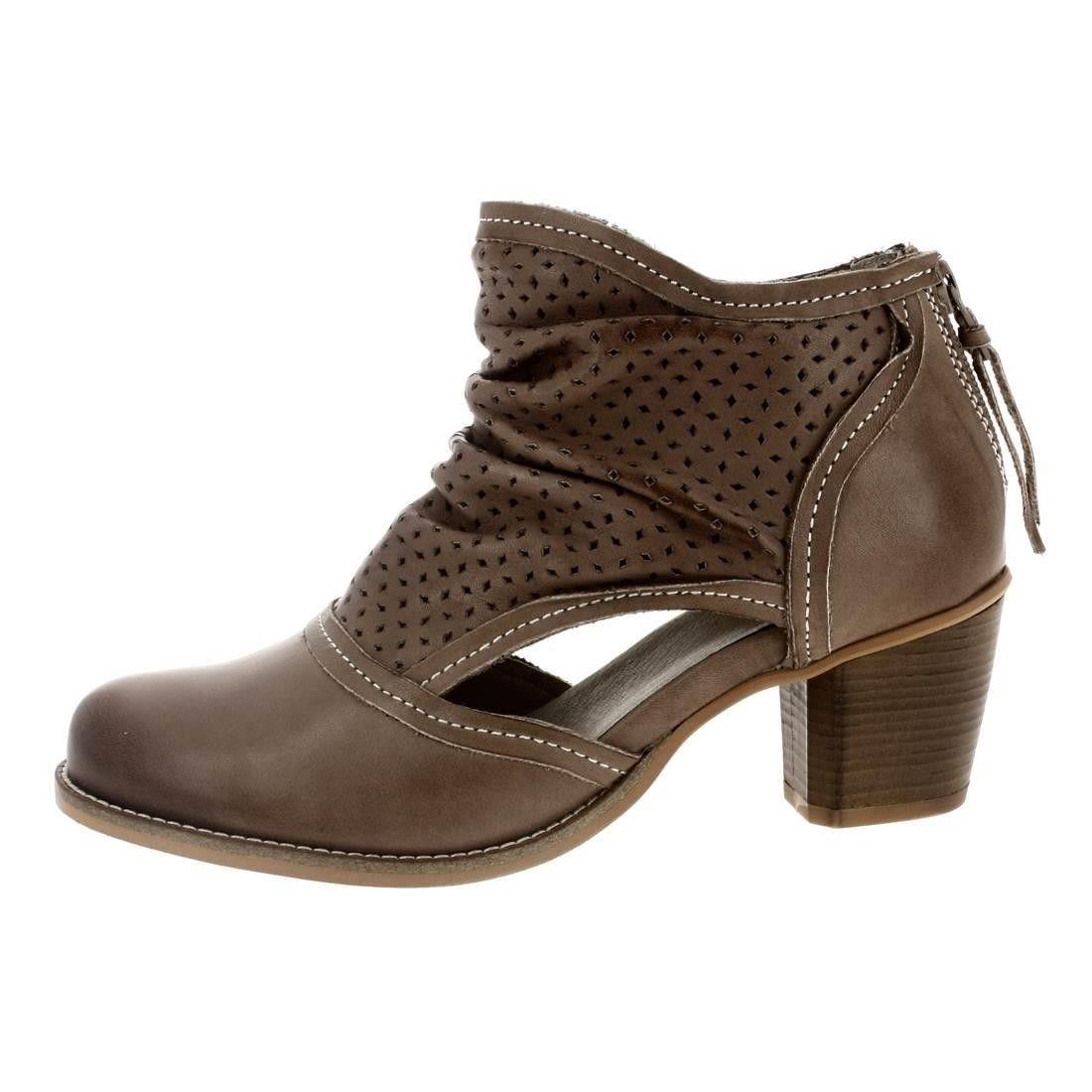 Bottine Femme Hiver Comfortable Peluche Classique Boots BMMJ-XZ014Jaune-35 UvN64E