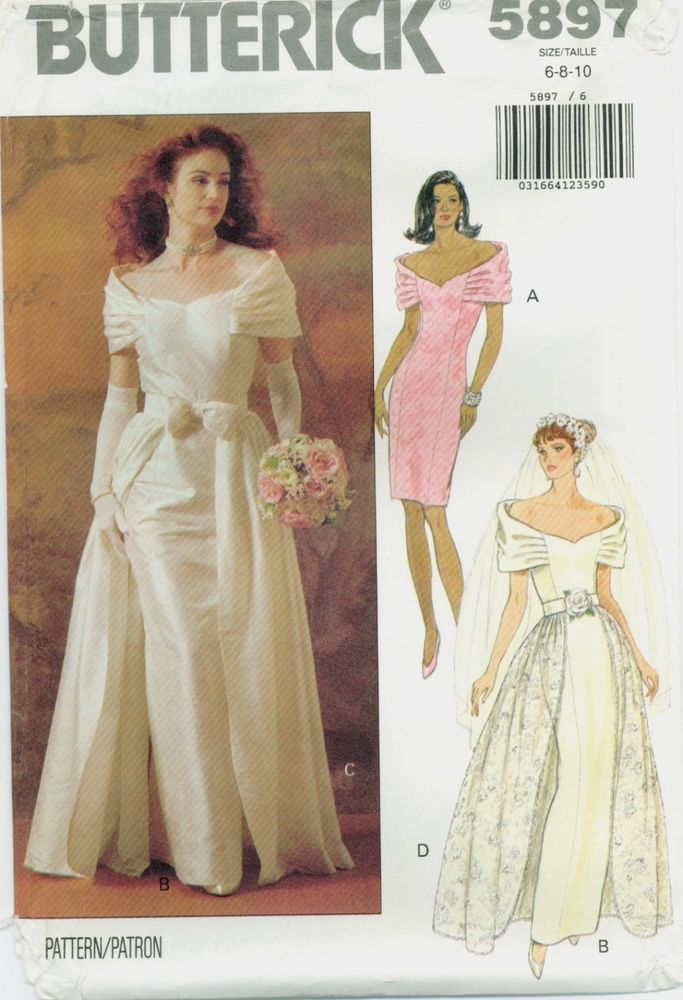 Simplicity 8413 Misses/' Brides/' and Bridesmaids/' Dreses  Sewing Pattern