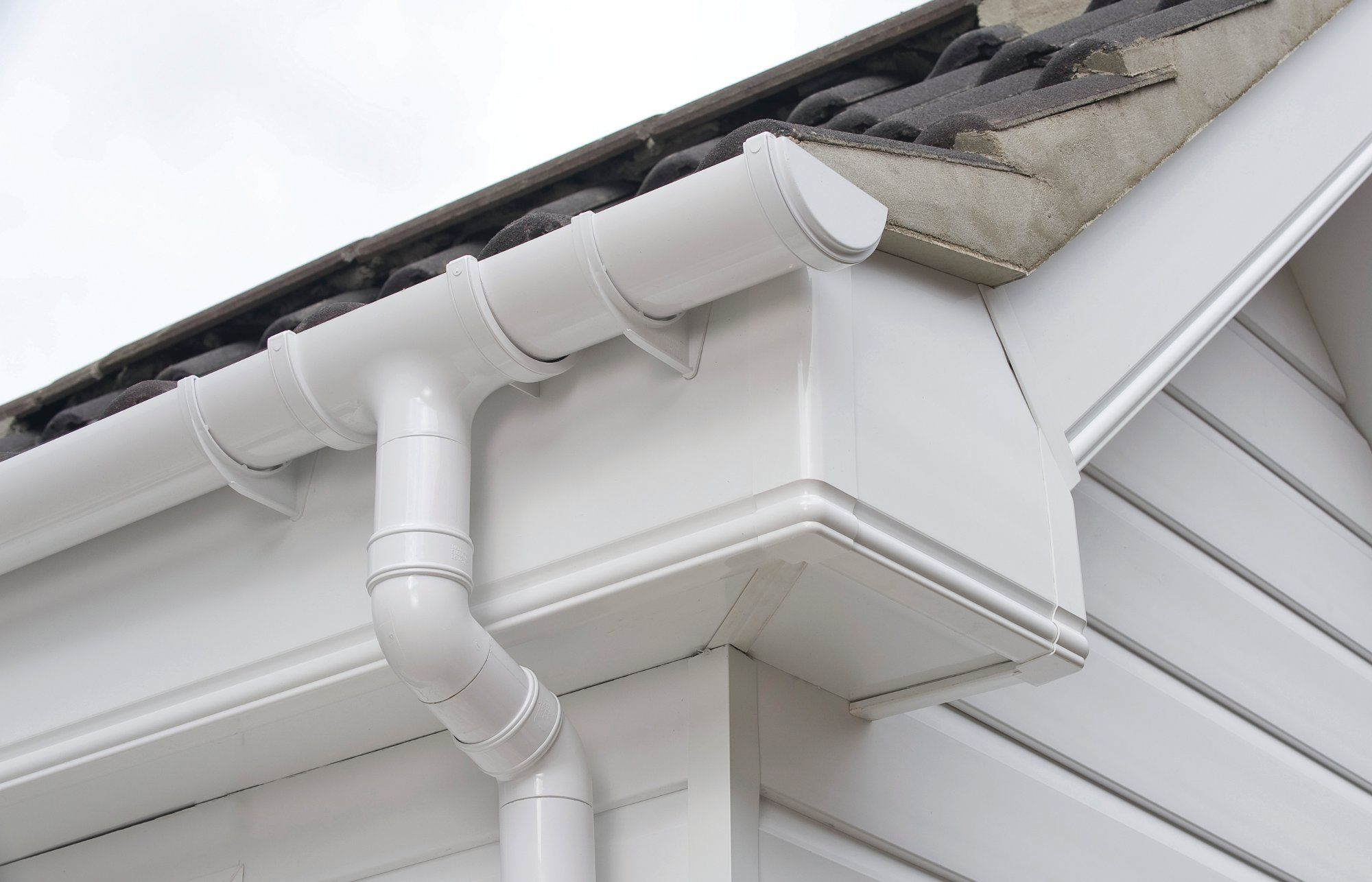 Upvc Fascia And Cladding Simple But Effective Guttering Gutters Cleaning Gutters Fascia