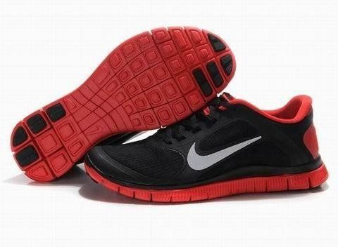 Pas cher en France Homme Chaussures Running (noir rouge blanc) Chaussures Homme Nike fa8501