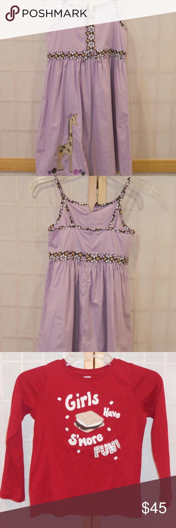 Gymboree girlus dress u shirt piece bundle sz nwt gymboree