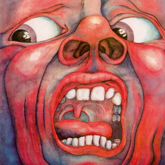 King Crimson; <i>In the Court of the Crimson King<i>; 1969; Island Records; art by Barry Godber