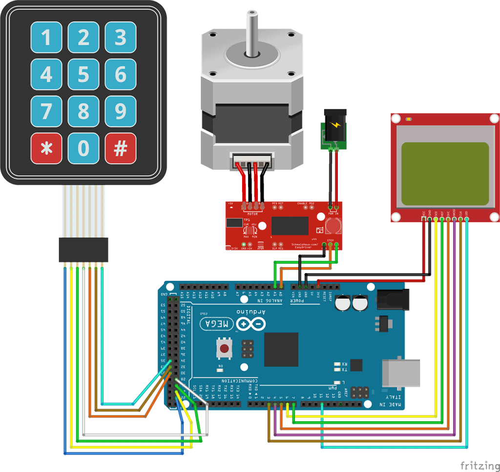 Tutorial diy electronic miter box controlling a stepper motor tutorial diy electronic miter box controlling a stepper motor with an arduino and a keypad overview in this tutorial we will see how to move a stepper baditri Gallery