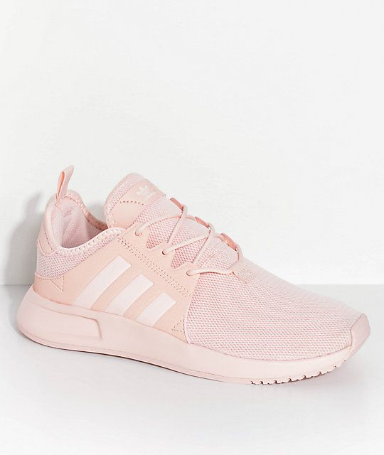 a6fc7075d855 adidas Youth Xplorer Icey Pink Shoes