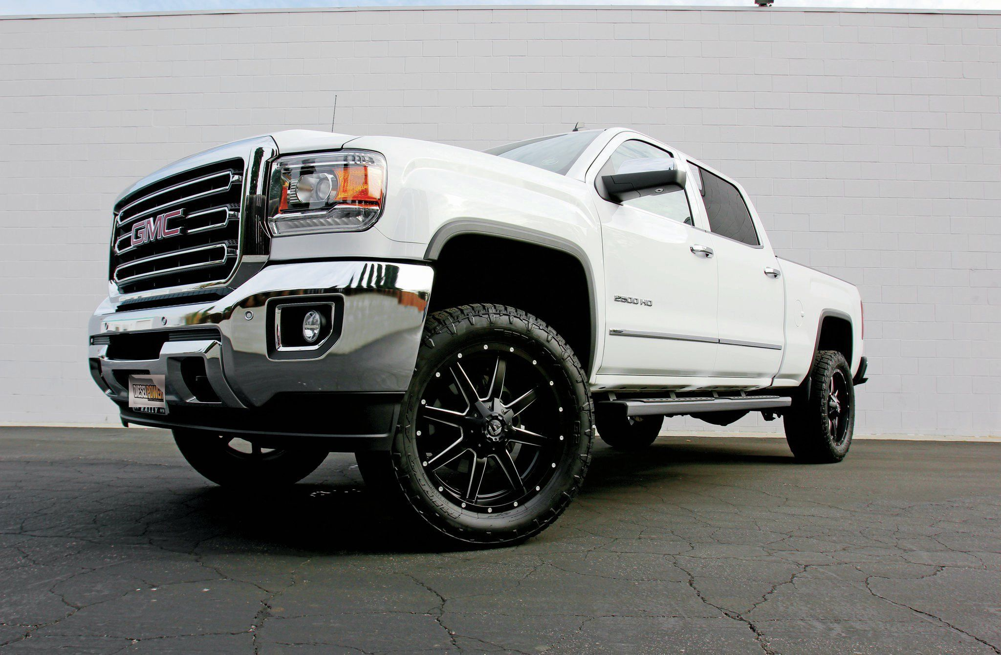 2014 gmc sierra 1500 rancho 6 inch lift kit white power turbo