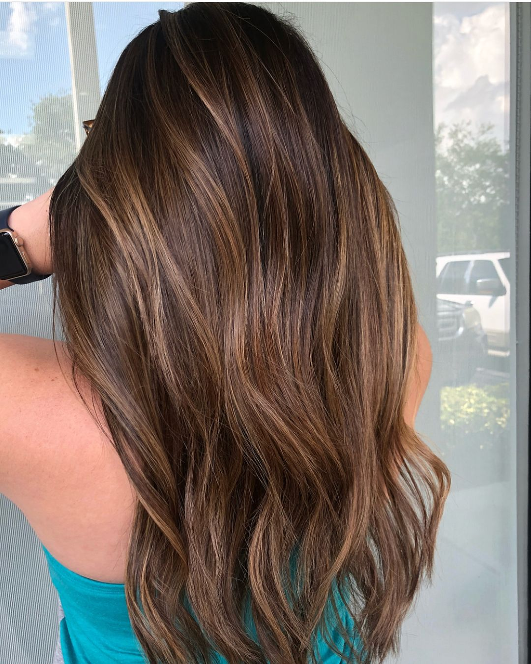 Image result for melted caramel hair trend