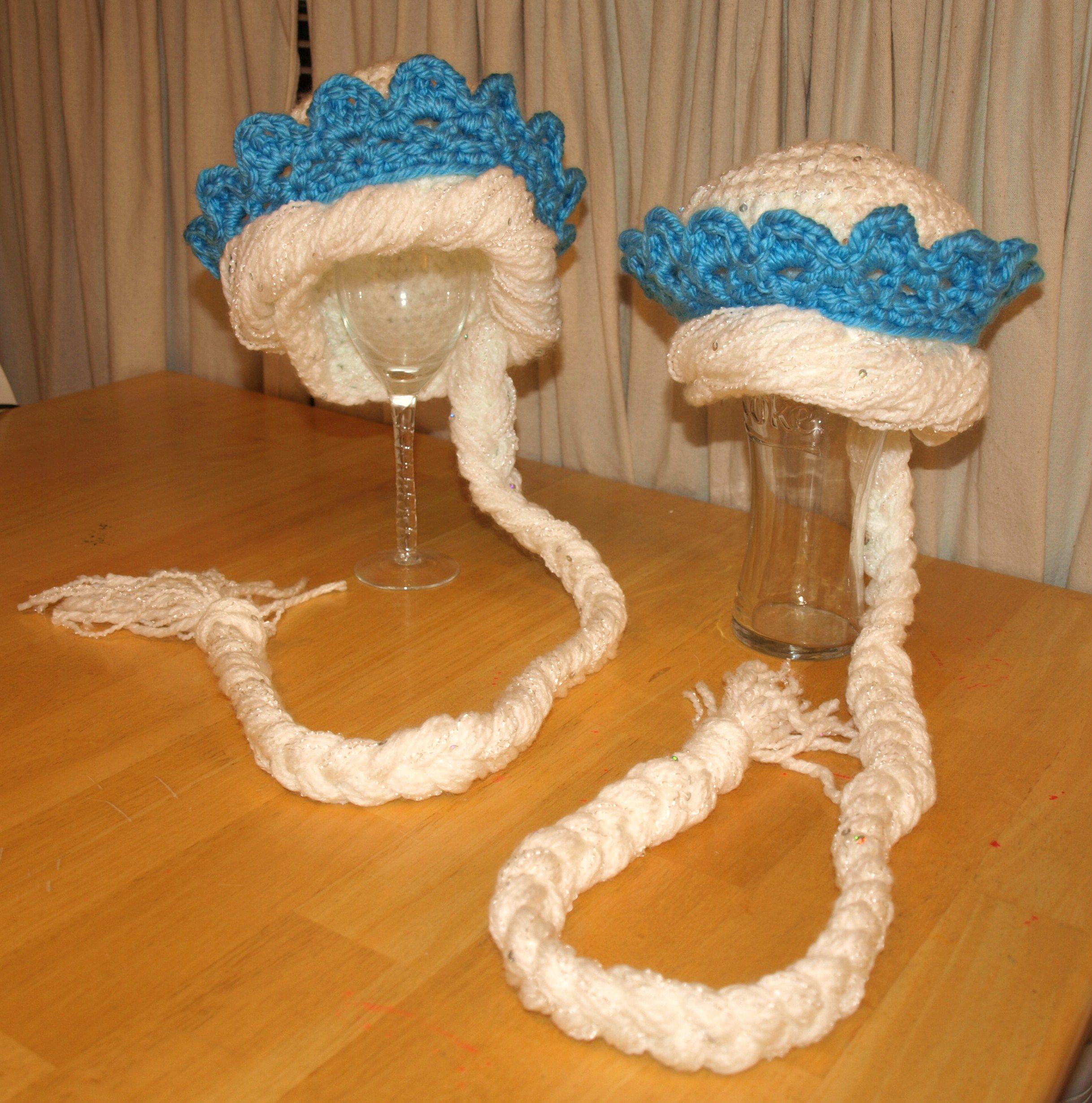 Elsa crocheted crochet hats