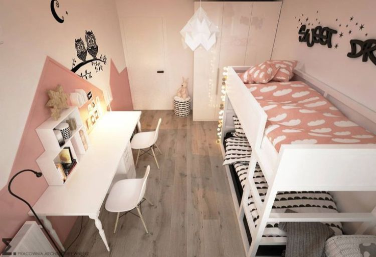 6 Space Saving Ideas For Small Kids Bedrooms Diy Home Decor Your Diy Family Kids Bedroom Diy Shared Girls Bedroom Shared Girls Room