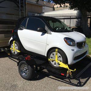 Smart Car Trailer Folding Stand Up Trailer Smart Car Car