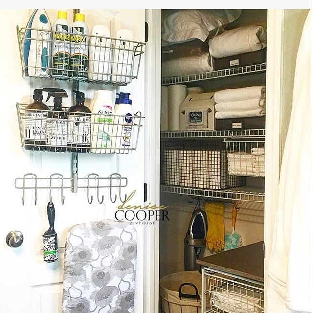 Check out this awesome utility closet from @bemyguestwithdenise! Be sure to tag us in all of your great ClosetMaid products with #MyClosetMaid.
