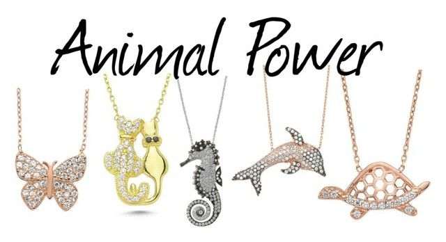 """""""Animal Power"""" by amorium ❤ liked on Polyvore featuring Amorium"""