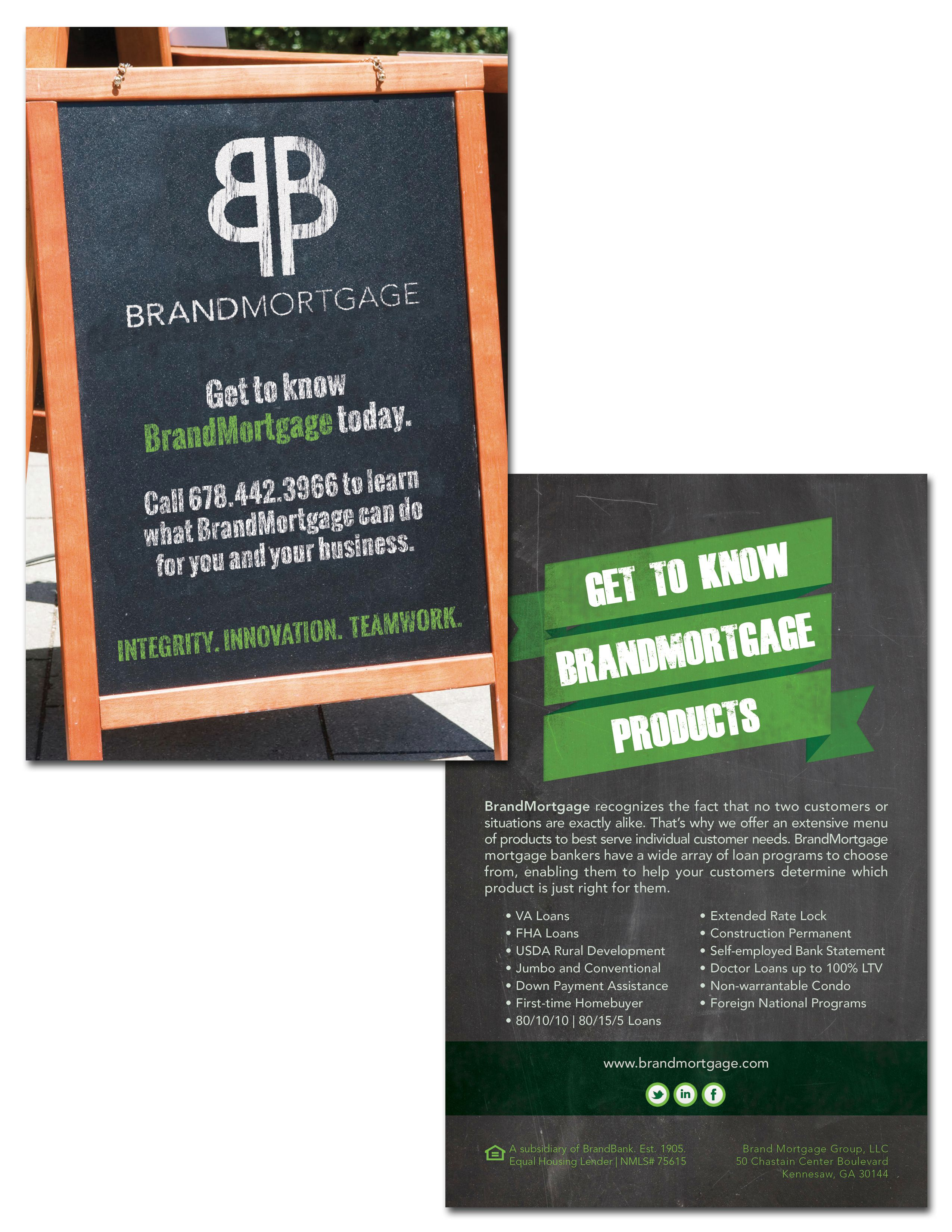 Brandmortgage Drip Campaign Postcard Design Graphic Design