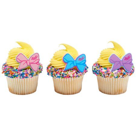 12 Count JoJo Jo Jo The Party's Here Cupcake Cake Rings Birthday Party Favors Toppers - Walmart.com -   20 cake Birthday party ideas