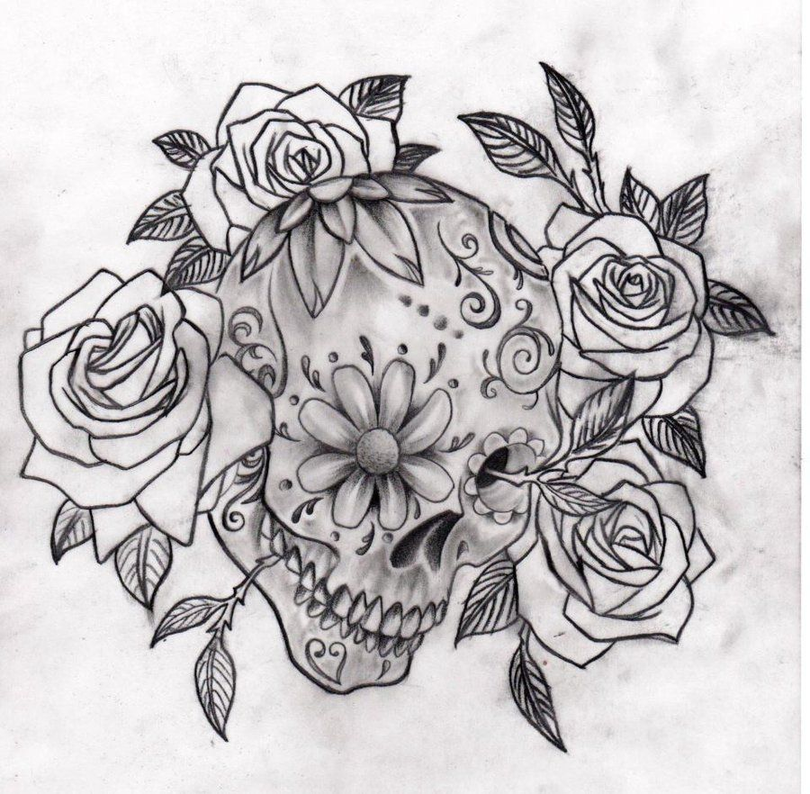 33 Crazily Gorgeous Sugar Skull Tattoos Designbump In 2020 Mexican Skull Tattoos Sugar Skull Tattoos Sleeve Tattoos