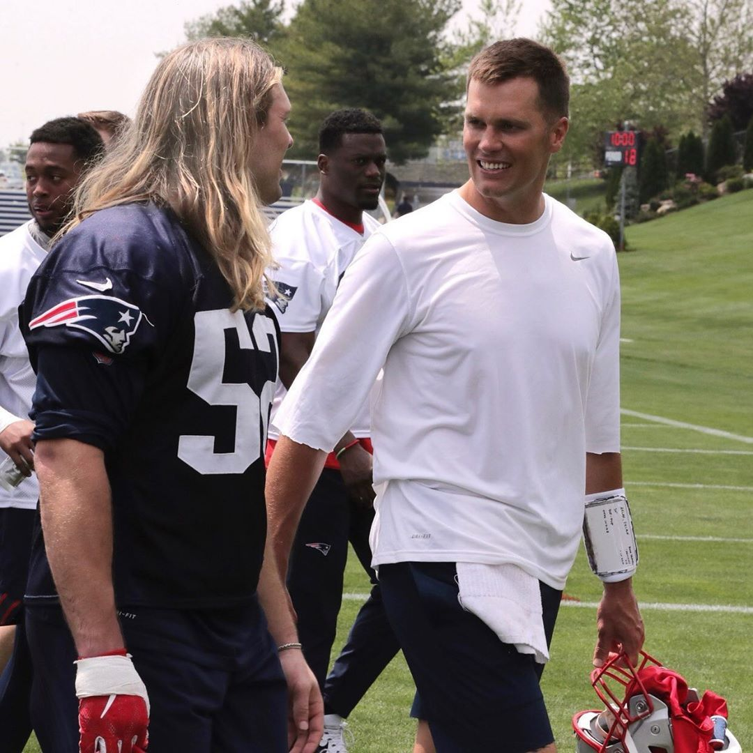 Chase Winovich On Instagram Hey I Might Be Looking For A New Barber Know Anybody Tombrady Champion New England Patriots Sb51