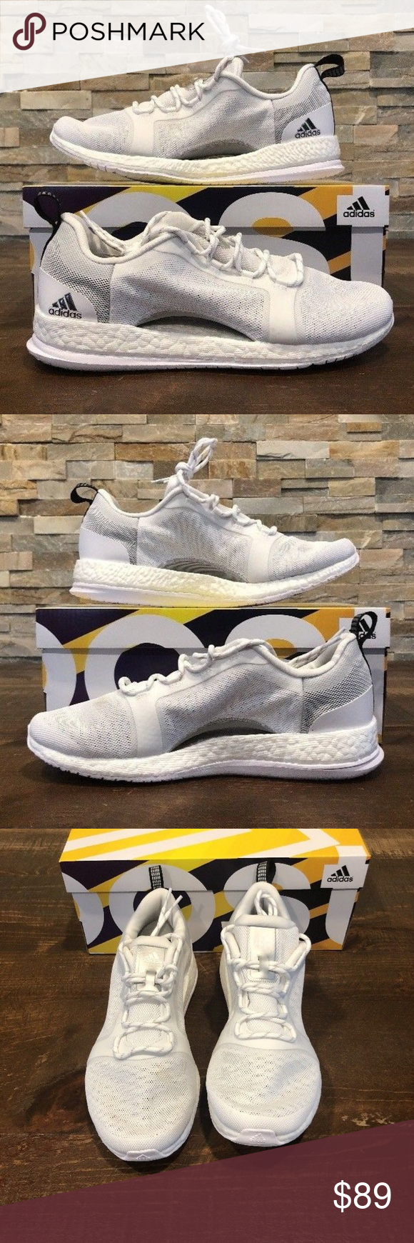 8633dc77403c2 Adidas Pure Boost X Trainer 2.0 Shoes Women s New Adidas Pure Boost X  Trainer 2.0 Shoes Women s White BB3285 New With Box Shipped Double Boxed  adidas Shoes ...
